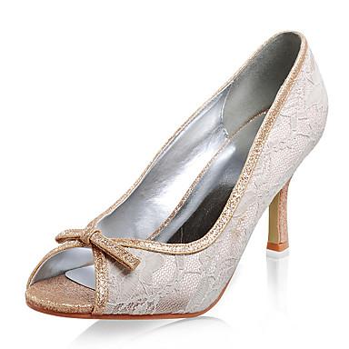 rendas de alta qualidade / flash pó superior stiletto calcanhar peep toe sapatos da moda