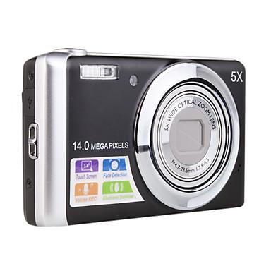 14.0mp CCD digitalkamera med 5x optisk zoom dc-T500
