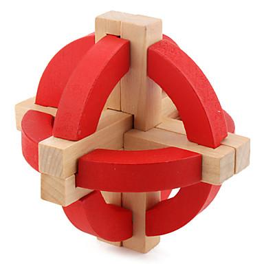 Ξύλινα παζλ Παιχνίδια σπαζοκεφαλιές IQ Παζλ Κονγκ Μινγκ επαγγελματικό Επίπεδο Ταχύτητα Τεστ νοημοσύνης Ξύλινος Κλασσικό & Διαχρονικό