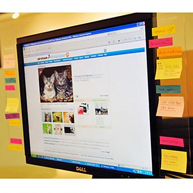 roztomilý utilitní vývěska pro počítačové obrazovky poznámky lepkavé pro kancelář
