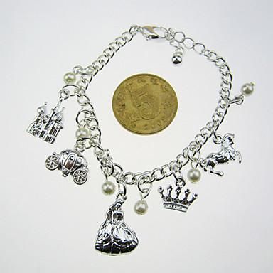 Silber Multi-Anhänger, Armband