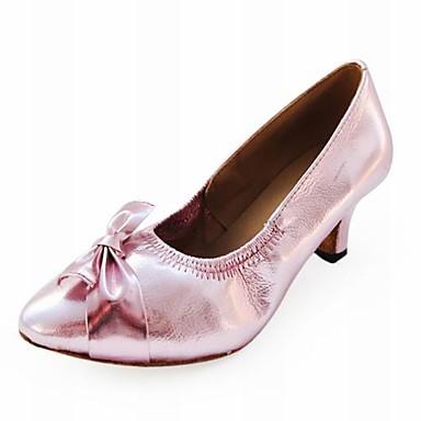 Women's Leatherette Modern/Ballroom Dance Performance Shoes  (More Colors) Customizable
