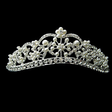 legering tiaras headpiece bryllupsfesten elegant klassisk feminin stil