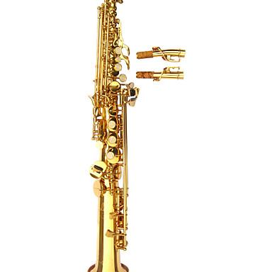 Hanbang - (hb-8050) saxofone soprano com estojo (até f alta #)