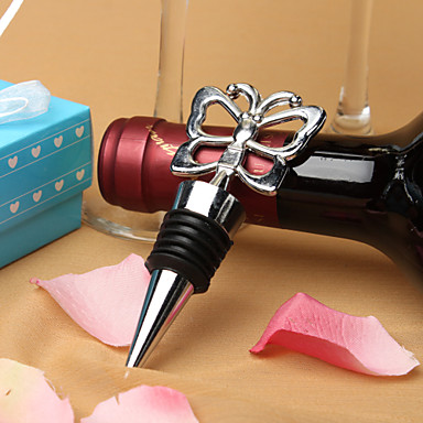 fluture dop de sticla de vin