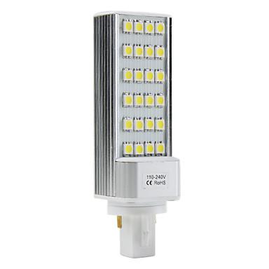 G24 3.5W 24x5050 SMD 250-300LM 5500-6500K Natural White Light LED Bulb (110-240V)