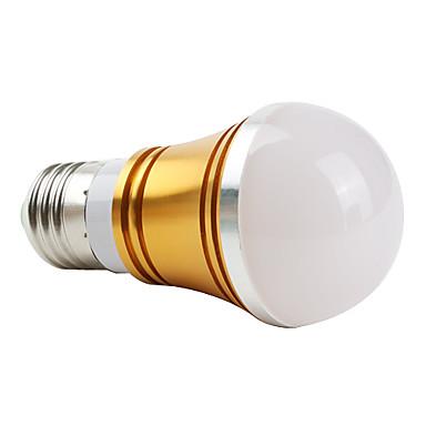 E27 3W 270LM 3000K Warm White Light Golden Shell LED Ball Bulb (85-265V)