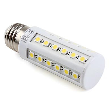 4000 lm E26/E27 Becuri LED Corn T 36 led-uri SMD 5050 Alb Cald AC 220-240V