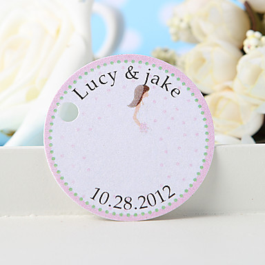 personalisierte Gunst-Tag - Birde (Set von 36) Hochzeitsbevorzugungen schöne