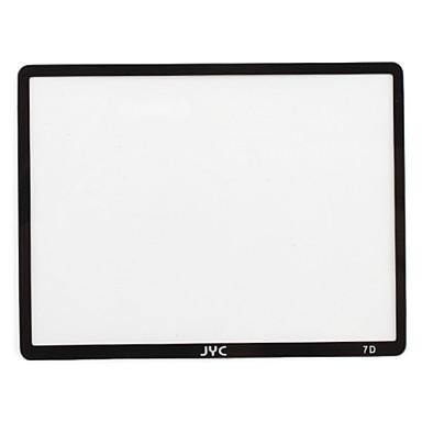JYC Pro optică de sticlă ecran LCD de protector pentru Canon 7d