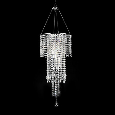 QINGMING® Pendant Light Ambient Light - Crystal Mini Style, Modern / Contemporary, 110-120V 220-240V Bulb Not Included