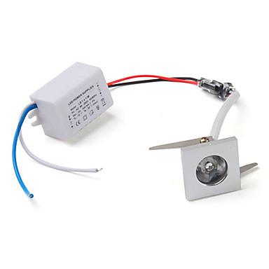 1w 100lm 3500k chaude lampe blanche au plafond descendait la lumière avec chauffeur conduit (CA 85 ~ 265V)