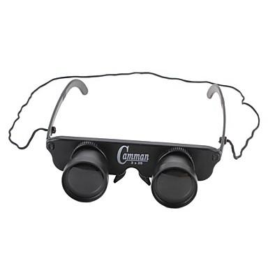 abordables Monoculaires, Jumelles & Télescopes-3 X 28 mm Jumelles Plastique