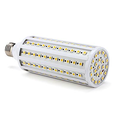 3000lm E26 / E27 LED Mais-Birnen T 132 LED-Perlen SMD 5050 Warmes Weiß 220-240V