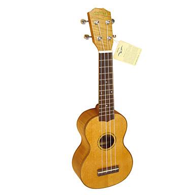 yadars - (YS-mh19) ukulele soprano sólido mogno