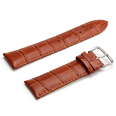 Uhrenarmbänder Leder Uhren Zubehör 0.014 Gute Qualität