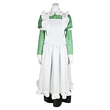 Inspired by Hetalia Italy Feliciano Vargas Anime Cosplay Costumes Cosplay Suits Solid Long Sleeves Dress For Men's