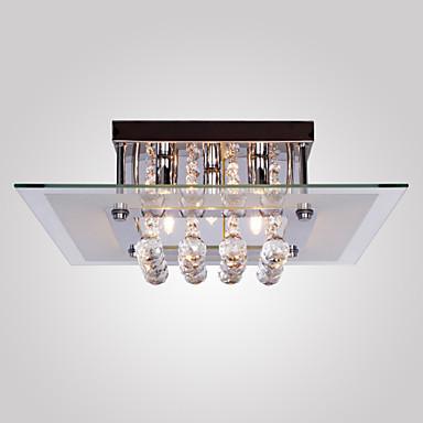SL® 5-Işık Sıva Altı Monteli Ortam Işığı - Kristal, Mini Tarzı, 110-120V / 220-240V Ampul Dahil / G9 / 40-50㎡