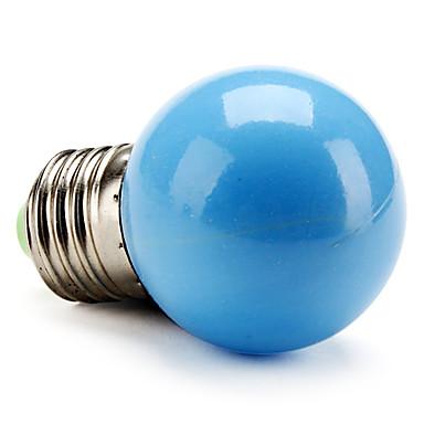50lm E26 / E27 LED Kugelbirnen G45 LED-Perlen Hochleistungs - LED Blau