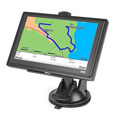 5 tommers berøringsskjerm bil GPS-navigator tf, usb, mp3, mp4, wmv