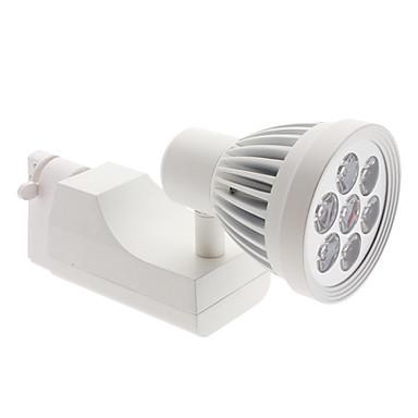 7W 560-600lm 3000-3500K varmvitt ljus vit lock spår lampa LED-spotlight lampa (85-265V)