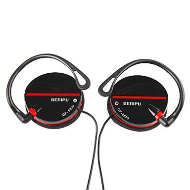 Hi-Fi Auriculares gancho, negro, blanco