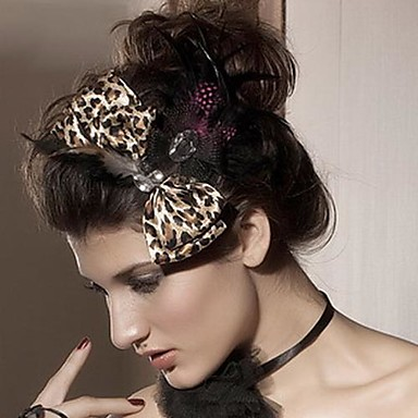 Women's Polyester Headpiece-Wedding / Special Occasion Fascinators