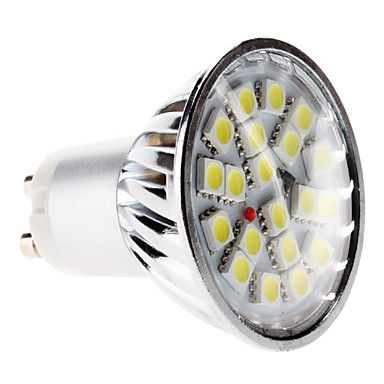 6000lm GU10 LED-kohdevalaisimet MR16 20 LED-helmet SMD 5050 Neutraali valkoinen 220-240V