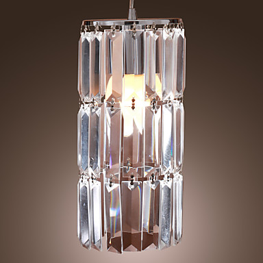 COLLEYVILLE - Lampadario stile contemporaneo in cristallo in cromo