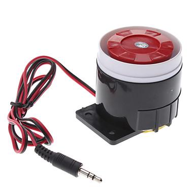 120dB hlasitý alarm siréna roh reproduktor bzučák (dc 6 ~ 16V, černá červená)