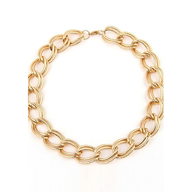 Women's Frosted Color Fast Circle Choker(Circumference:50CM)