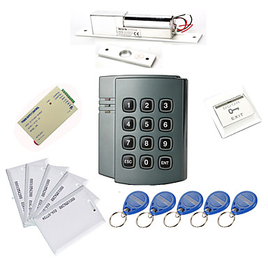 Plastic Standalone Access Controller mit 1000 Benutzer (Electric Bolt, 10 EM-ID Card, Power Supply)
