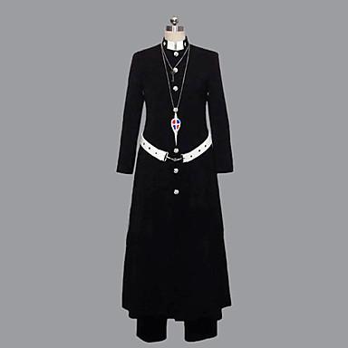 Inspirat de Blue Exorcist Shirou Fujimoto Anime Costume Cosplay Costume Cosplay Peteci Manșon Lung Geacă Pantaloni Centură Pentru Bărbați