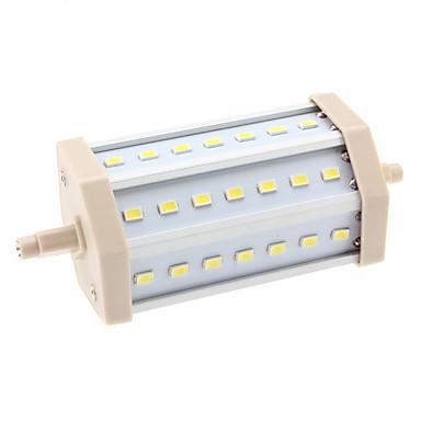 10W 6000lm R7S LED-kolbepærer T 21 LED Perler SMD 5630 Naturlig hvid 85-265V