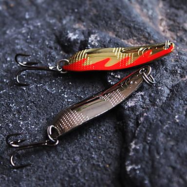 Metal Bait Spoons 58mm/14g Sinking Fishing Lure 5pcs