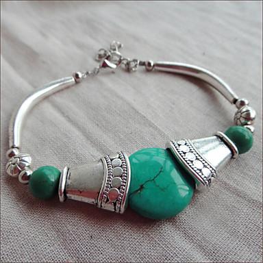 Vintage Tophus Tibetan Silver Bracelet(Circumference:20CM)