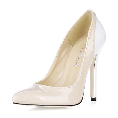 Spring / Summer / Fall Heels Patent Leather Office & Career / Dress Stiletto Heel Pink
