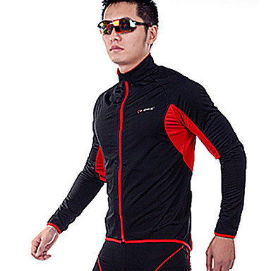 INBIKE Series ployester + Fleece Fabric Materiale Langærmet Man Cycling Jersey Suit med Silicone Pad QG026