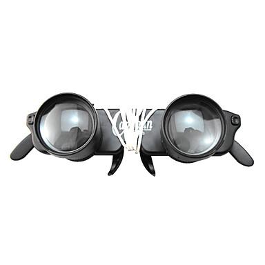 abordables Monoculaires, Jumelles & Télescopes-1-3 X 28 mm Jumelles Vision nocturne Plastique