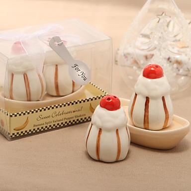 Sweet Dessert Design Ceramic Salt & Pepper Shakers (Set 2)
