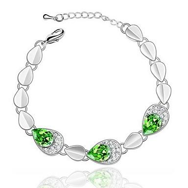 Unique Alloy With Crystal Women's Bracelet (More Colors)