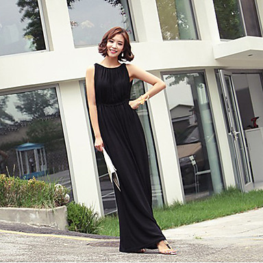 Women's Chiffon Beach Maxi Dress