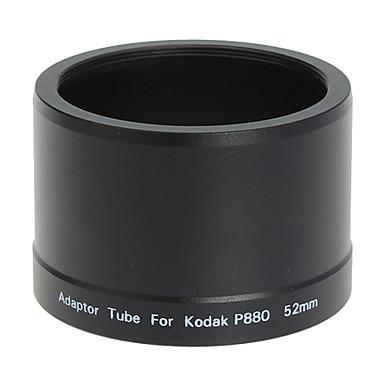 Obiectiv 52mm și filtru de tub adaptor pentru Kodak P880 Aparat foto digital negru
