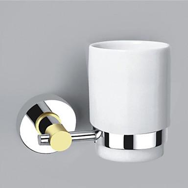Držák na zubní kartáček Snímatelné Moderní Mosaz 1 ks - Hotelová koupel