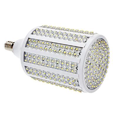 SENCART 3000lm E14 Becuri LED Corn T 330 LED-uri de margele Dip LED Alb Cald 85-265V