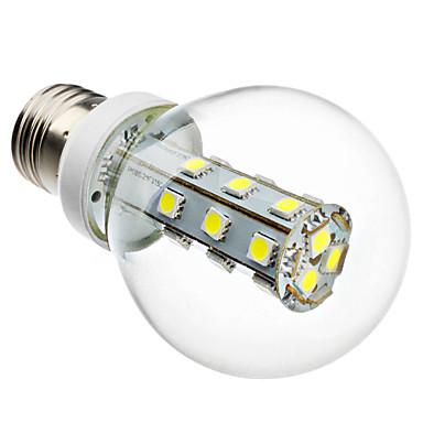 e26 / e27 led žárovky g60 21 smd 5050 280lm přírodní bílá 6000k ac 220-240v