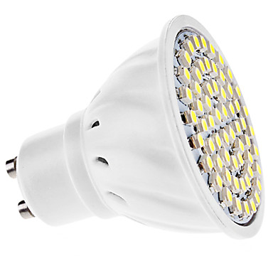 3W 250-350 lm GU10 LED Spot Lampen MR16 60 Leds SMD 3528 Warmes Weiß Kühles Weiß Wechselstrom 110-130V Wechselstrom 220-240V
