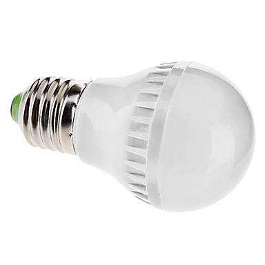 6000 lm E26/E27 Bulb LED Glob A50 21 led-uri SMD 5050 Alb Natural AC 110-130V