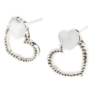 Peckové náušnice Slitina Srdce Heart Shape Šperky Denní