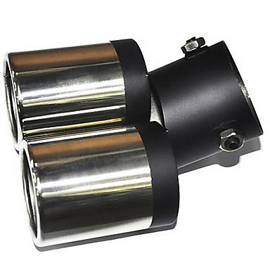 Universal ruostumatonta terästä äänenvaimennin Ajoneuvot Pakoputki (63mm-Sisäläpimitta) LMC-M-041